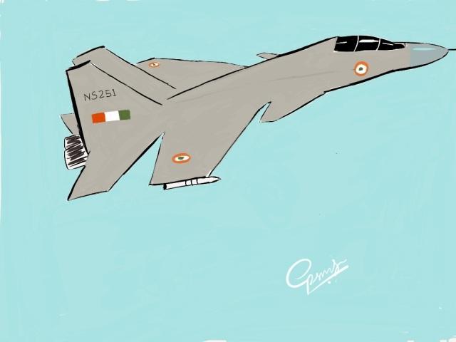 sukhoi 30 mki sketch