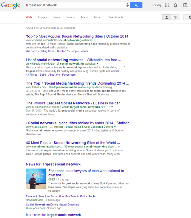 Google1LargestSocial